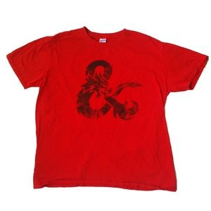 Dungeons and Dragons Ampersand Graphic Shirt SZ XL